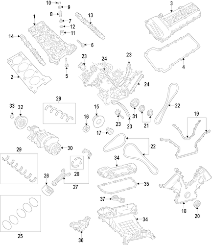 Engine Diagram For Lincoln Ls 3 9