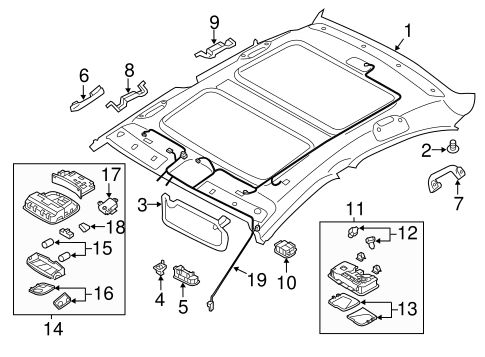 Gmc Acadia Sunroof Diagram, Gmc, Free Engine Image For