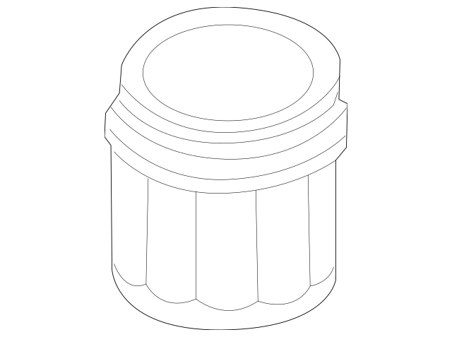 Genuine OEM 1999-2011 Volvo Oil Filter Housing 1275808