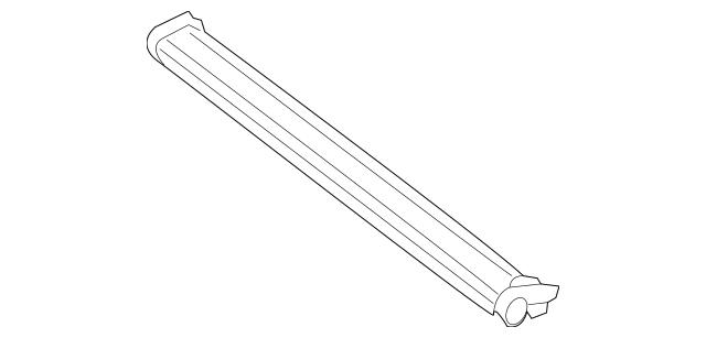 Mercedes-Benz Sunroof Roller Blind 205-780-58-00-9F67