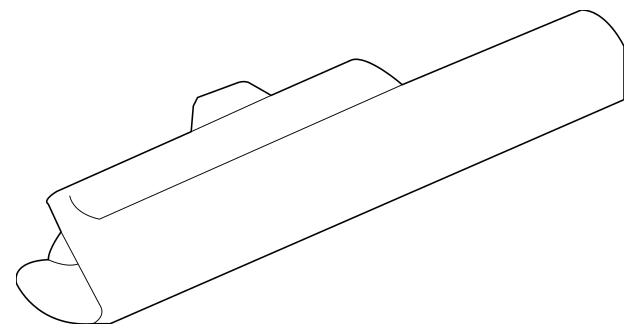 Genuine OEM Light Assembly, L Rear Side Marker Part# 33655