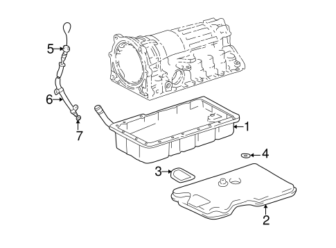Genuine OEM Automatic Transmission Parts for 2000 Toyota