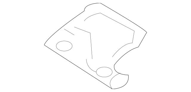 OEM NEW 2010-2013 Mazda 3 Mazdaspeed Bracket Fuel Pipe W/o