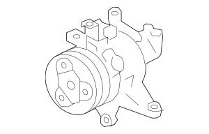 2014-2018 Subaru A/C Compressor Assembly / VIN Required