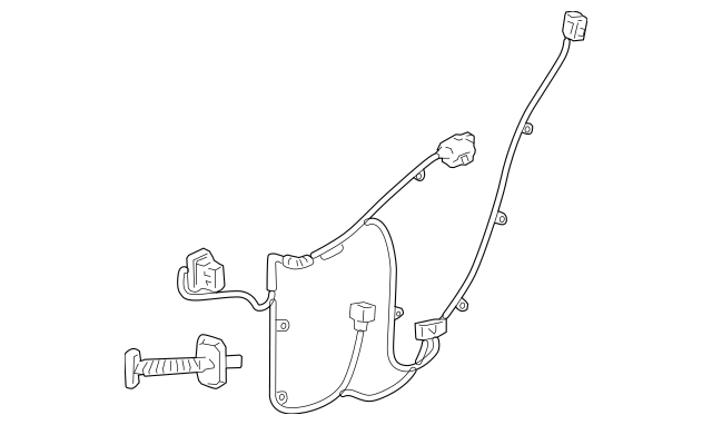 Genuine OEM 2005-2011 Cadillac STS Wire Harness 15899009