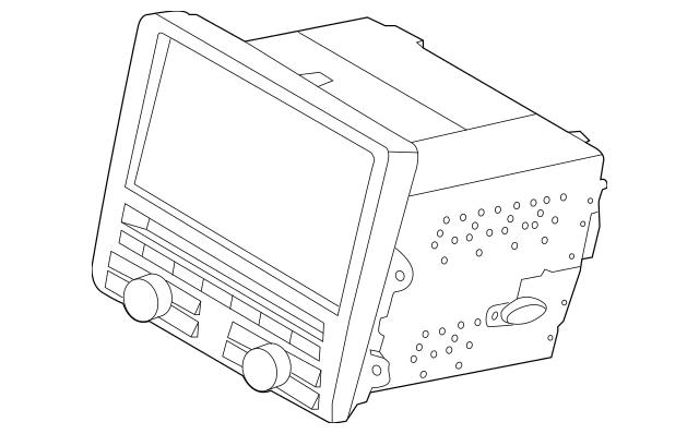 Genuine OEM Display Unit Part# 991-642-966-X-DML Fits 2012