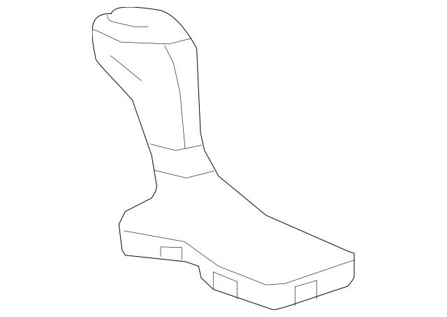 2017 Chevy Camaro manual, Black Leather Shift Knob Boot W