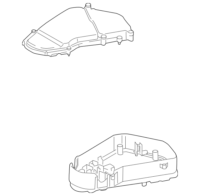2003-2010 Porsche Cayenne Fuse & Relay Box 955-610-105-02