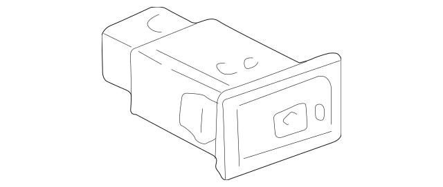 1996-2000 Toyota RAV4 Defroster Switch 84790-42020