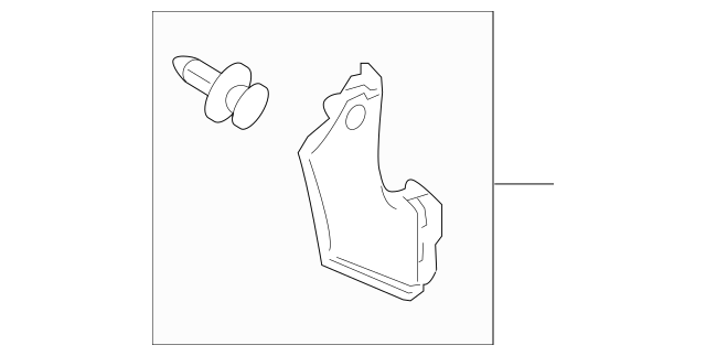 2012-2014 Honda INSIGHT Lining Assembly, R Cowl Side