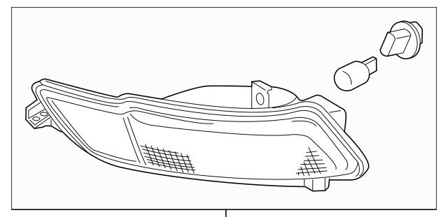 Genuine Honda Light Assembly, R Rear Back-Up 34500-TG7-A02