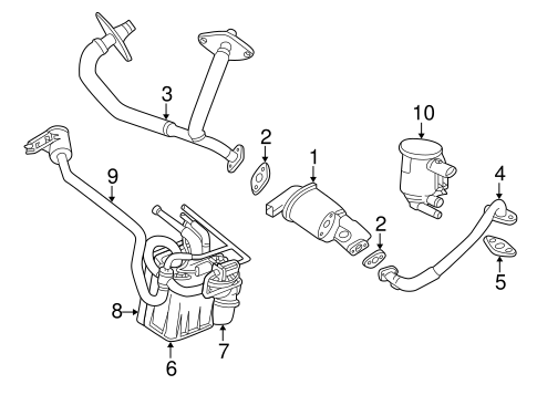Emission Components for 2003 Dodge Intrepid Parts