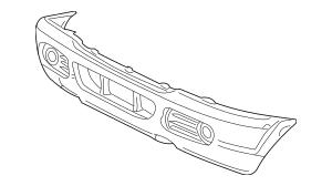 Genuine OEM Bumper Cover Part# 2L2Z-17D957-SAPTM Fits 2002