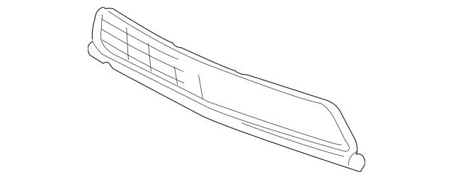 2011-2014 Acura TSX SEDAN Grille, Front Bumper (Lower