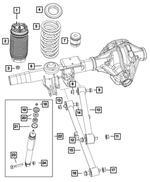 Mopar Air Suspension Spring Assembly 2014-2021 Ram 2500