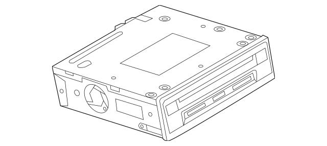 2013-2015 Volkswagen Touareg Control Module 7P6-035-664-CX