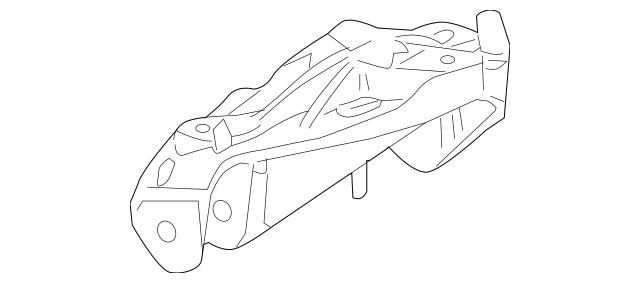 2003-2010 Porsche Cayenne Mount Bracket 955-343-015-21