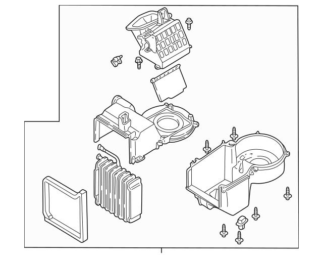 Ford Escape/Mercury Mariner/Hybrid Air Conditioning