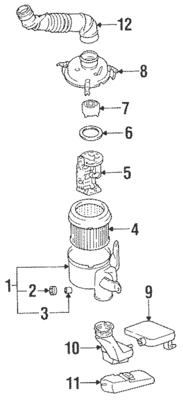 1992-1995 Hyundai Elantra Noise Filter 28177-33010