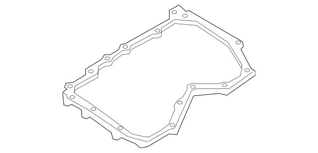 1985-2020 Mazda Engine Oil Drain Plug Gasket 9956-41-400