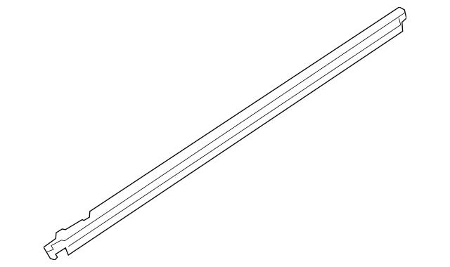 2016-2018 Audi TT Quattro Belt Weather-Strip 8S0-837-478-D