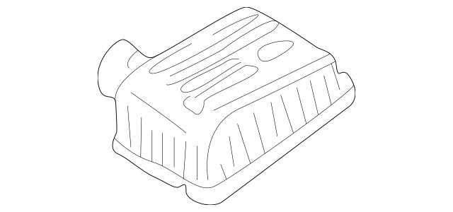 Genuine Hyundai 28111-2C000 Air Cleaner Cover Air Filters