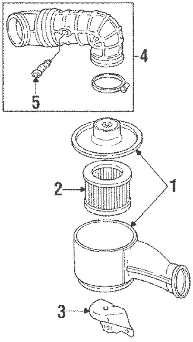 gm 3800 oil filter assembly diagram