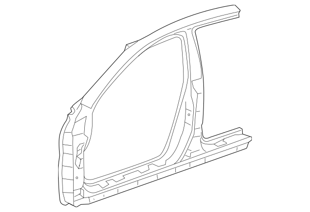 2004-2008 Acura TL SEDAN Panel Set, L Front (Outer) 04645