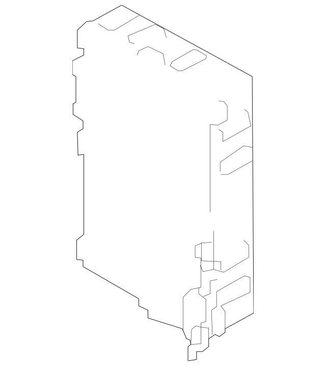 2013-2015 Nissan Versa Body Control Module 284B1-9KA0A
