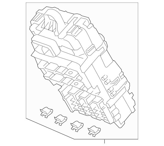 2016 Honda CR-Z HATCHBACK Box Assembly, Fuse (Rewritable