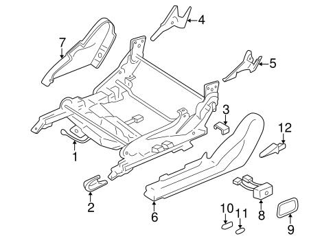 Tracks & Components for 2001 Mitsubishi Eclipse