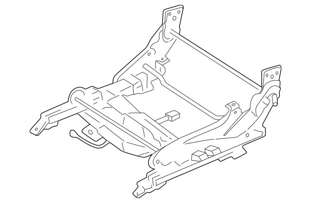 2000-2005 Mitsubishi Eclipse Seat Adjust Assembly MR321589