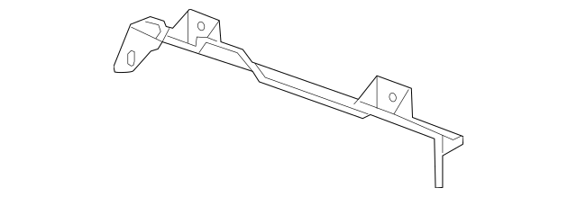 OEM GM Radiator Support Upper Air Deflector Baffle 2013