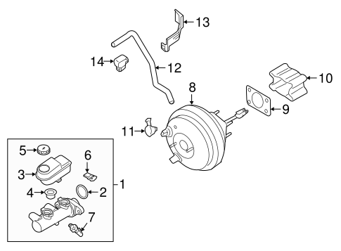 HYDRAULIC SYSTEM for 2006 Nissan Frontier