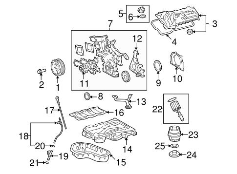 Genuine OEM Engine Parts Parts for 2009 Toyota Venza Base