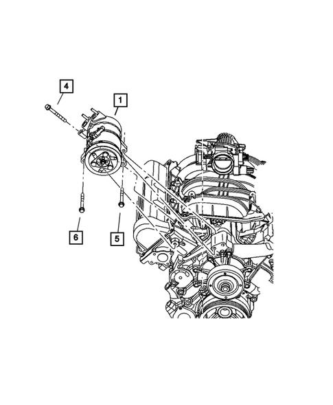 2006 Jeep Liberty Ac Compressor : liberty, compressor, Conditioning, Compressor, Liberty, Steve, White, Parts
