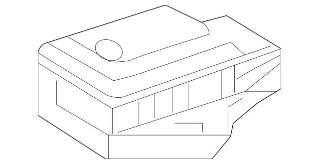 2008-2019 Mercedes-Benz Lateral Accelerometer Sensor 007
