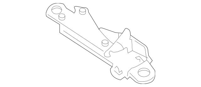 2004-2012 Mercedes-Benz Lock Pin Housing 230-790-13-77
