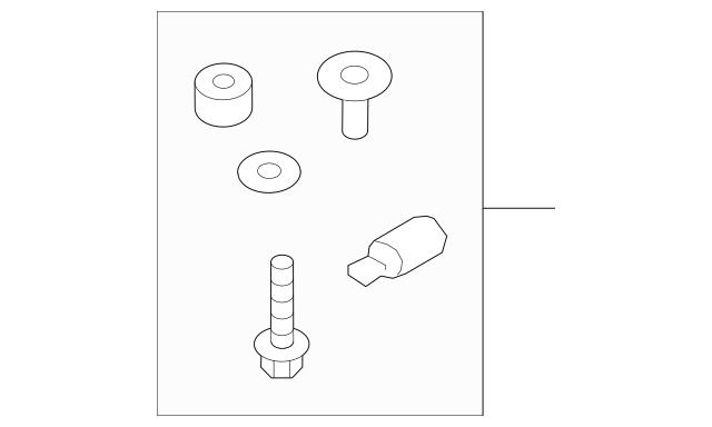 2015-2016 Audi A3 Pump Assembly Repair Kit 5Q0-198-975