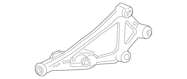 2016-2017 Honda HR-V 5-DOOR Bracket Assembly, Rear