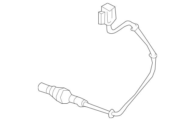 2005-2008 Acura RL SEDAN Sensor, Rear Secondary Oxygen