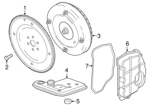 Transmission Components for 2013 Ford Explorer
