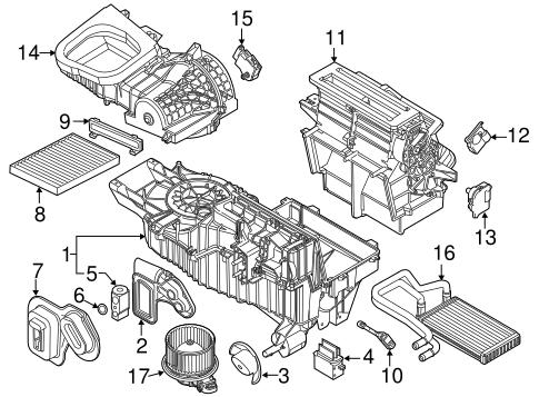 Evaporator Components for 2013 Ford Explorer