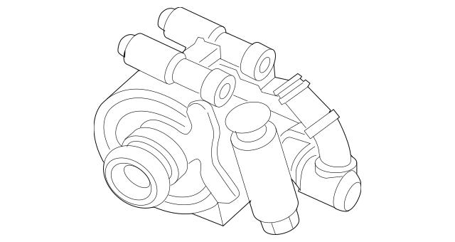 Buy this genuine OEM 2009-2010 Ford Power Steering Pump