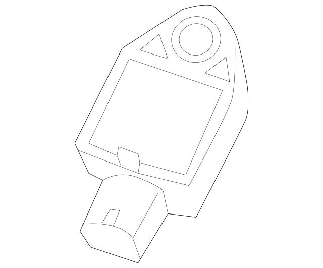 Buy this Genuine 2006 Mitsubishi Raider Front Sensor