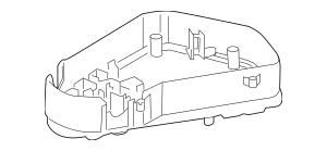 2007-2015 Audi Q7 Fuse & Relay Box 7L0-907-295-J