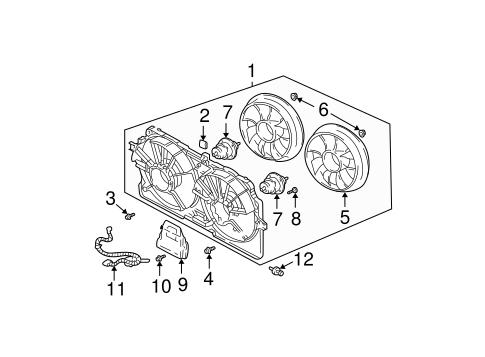 OEM Cooling Fan for 2001 Chevrolet Monte Carlo