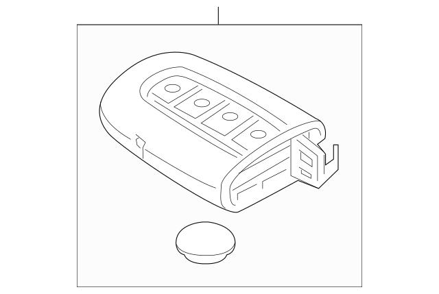 Genuine OEM Transmitter Part# 95440-2T100 Fits 2011-2013