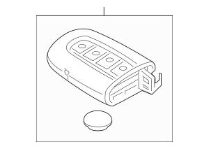 Genuine OEM Transmitter Part# 95430-2T560 Fits 2014-2015