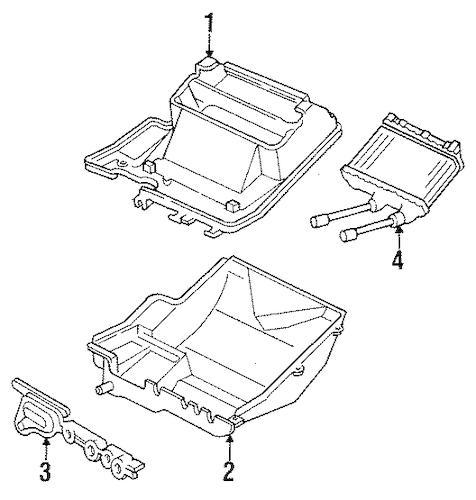 HEATER for 1994 Chevrolet Cavalier (RS)